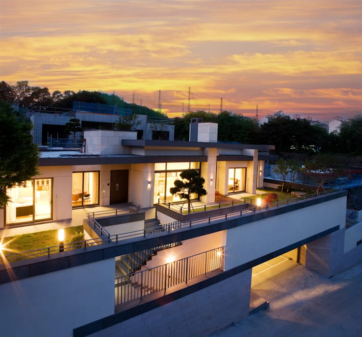 La Folium: Design Tomorrow INC.의  테라스 주택,컨트리