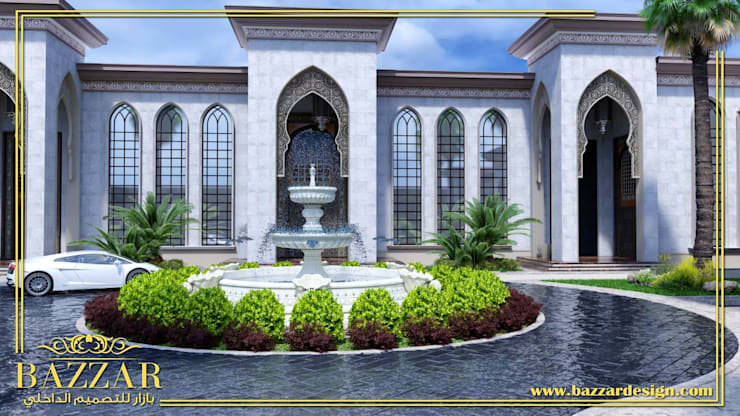 حدائق فلل:  Garden  تنفيذ Bazzar Design