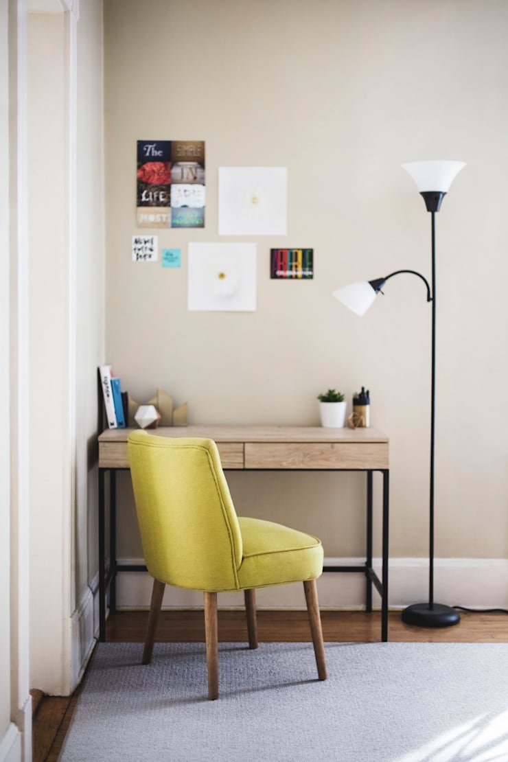 Estudio: Habitaciones de estilo  por Fire Design AR
