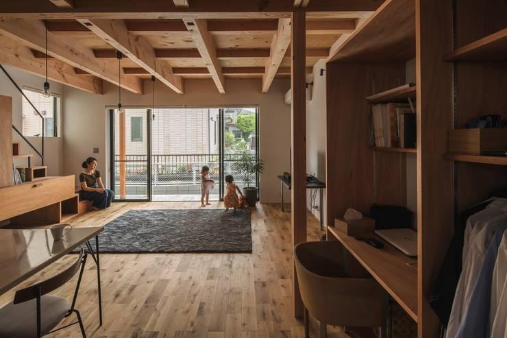 Salon rustique par ALTS DESIGN OFFICE Rustique