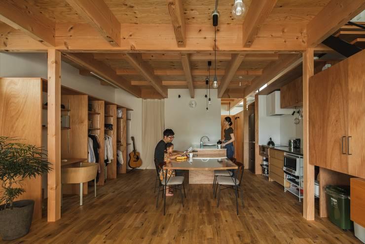 Salle à manger rustique par ALTS DESIGN OFFICE Rustique