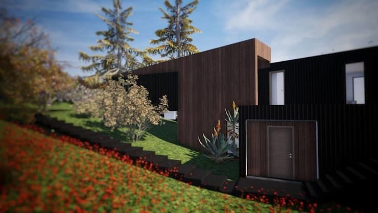 Wooden houses by Dušan Marinković - Arquitectura - Santiago