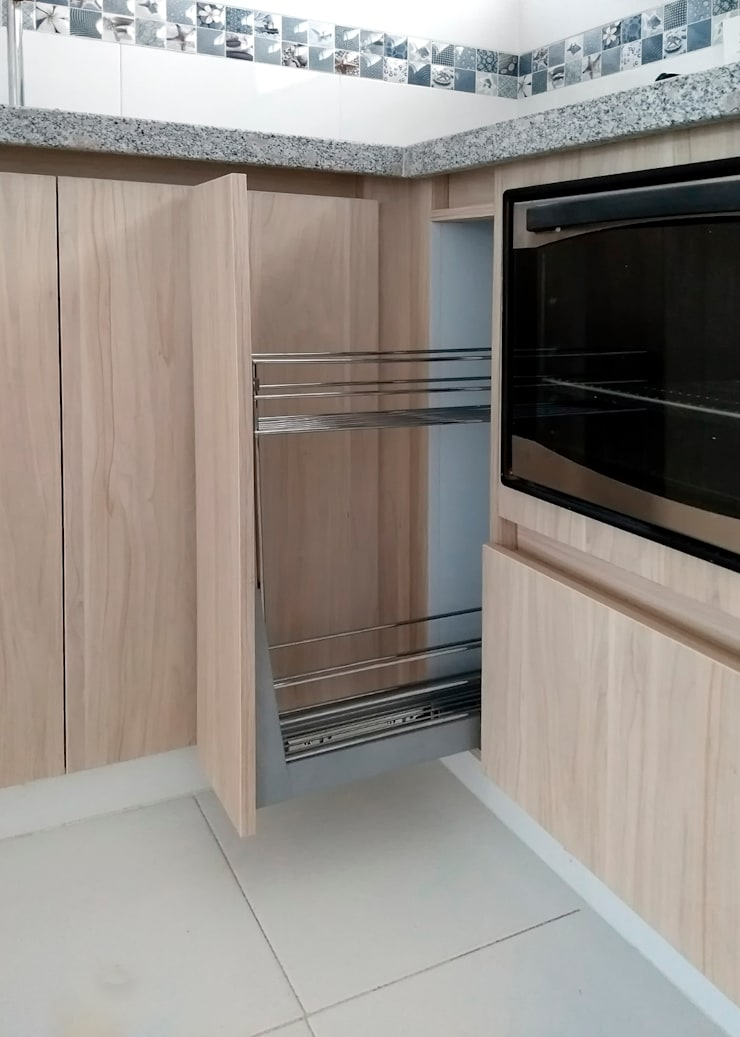 Built-in kitchens by Remodelar Proyectos Integrales, Modern MDF