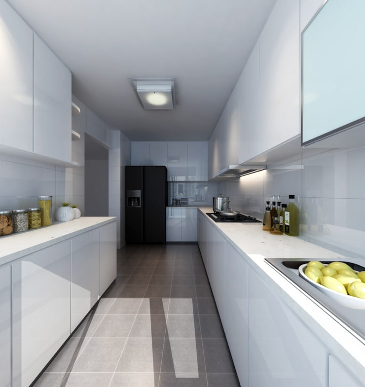 Built-in kitchens by March Atelier