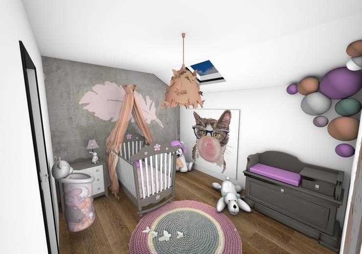 Chambre enfant: Chambre d'enfant de style  par Crhome Design
