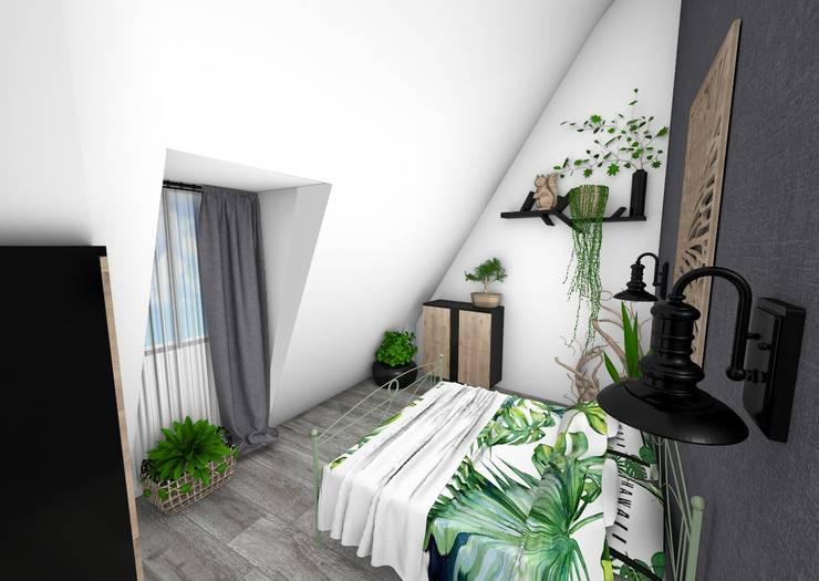 Chambre: Chambre de style  par Crhome Design