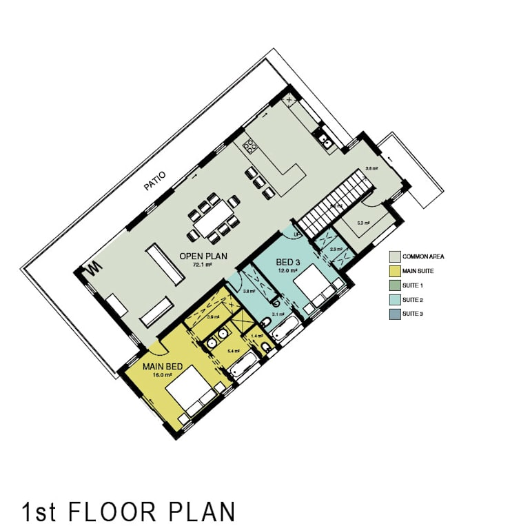 New House Plan:   by A4AC Architects