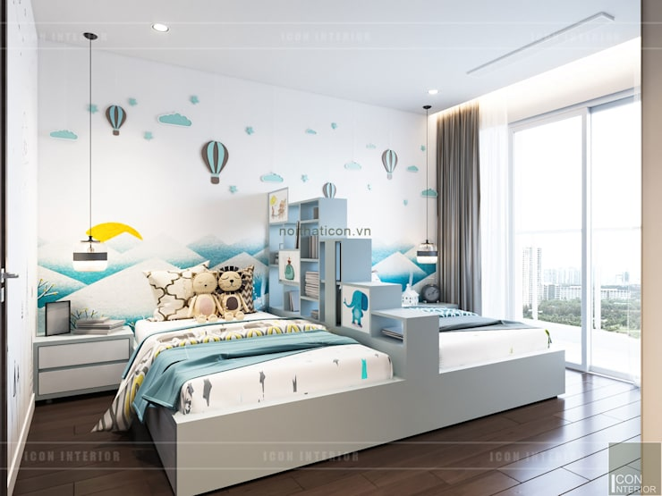 Nursery/kid's room by ICON INTERIOR, Modern