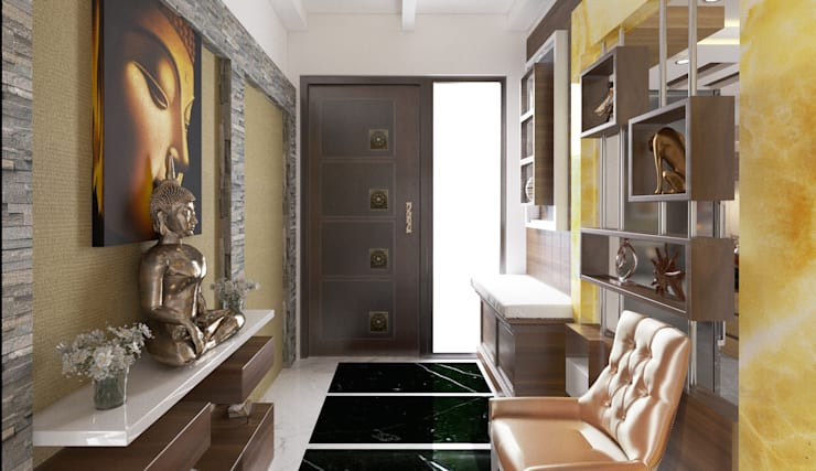 Fayer Design :  Corridor, hallway & stairs  by Idea Associates