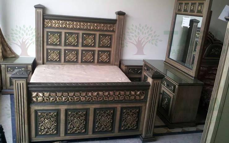 Indian Bedrooms: modern Bedroom by TASA interior designer