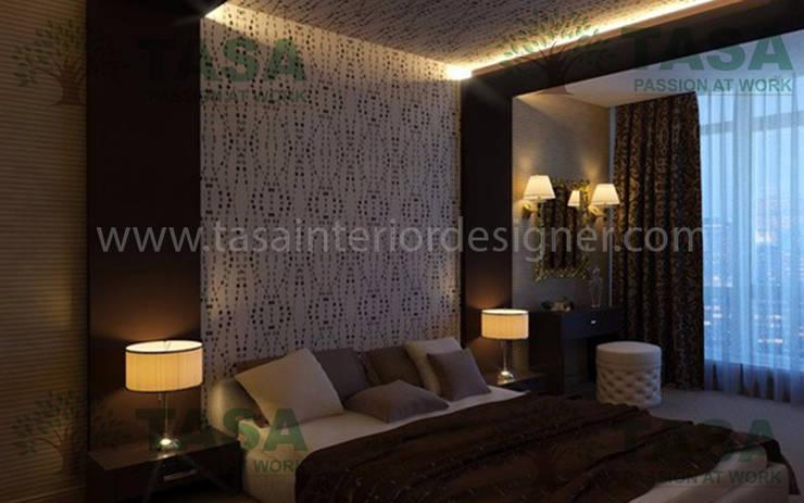 Bedroom and mirrors: modern Bedroom by TASA interior designer