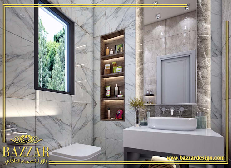 تصميم حمامات par Bazzar Design
