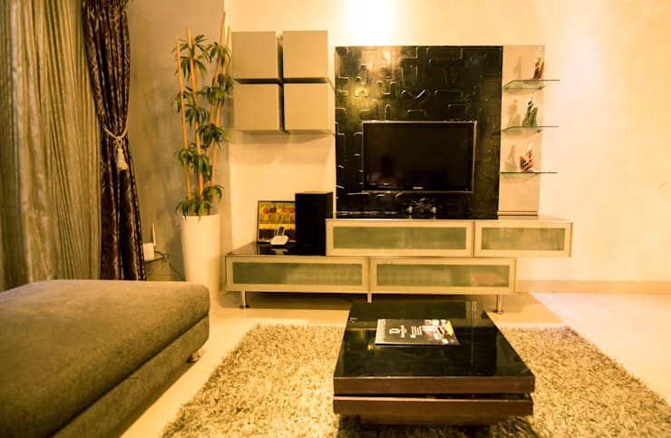 Interior: modern Living room by Dream Touch