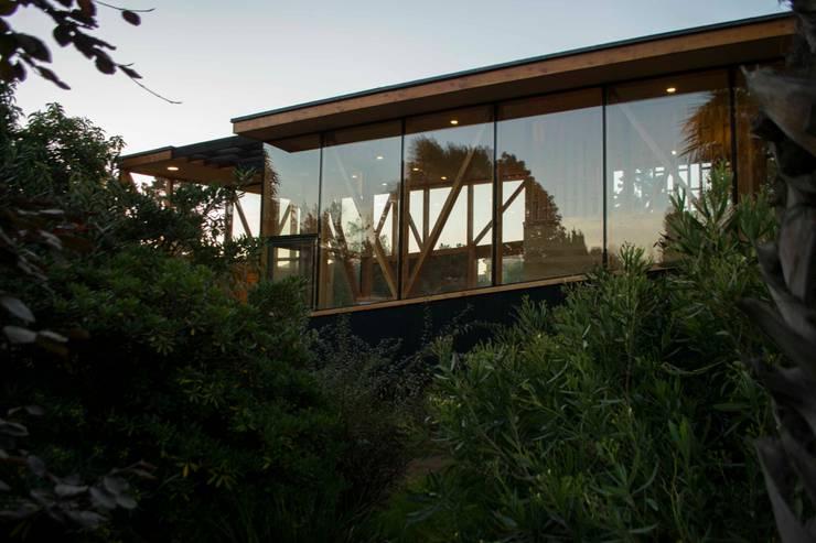 Muro Cortina Sur: Casas de estilo  por PhilippeGameArquitectos