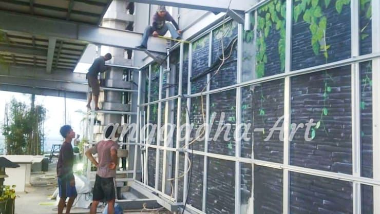 Pemasangan Rangka:  Kolam taman by Tukang Taman Surabaya - Tianggadha-art
