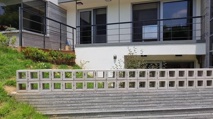 청주시 단독주택 컨트리스타일 주택 by 건축사사무소 CSU 컨트리
