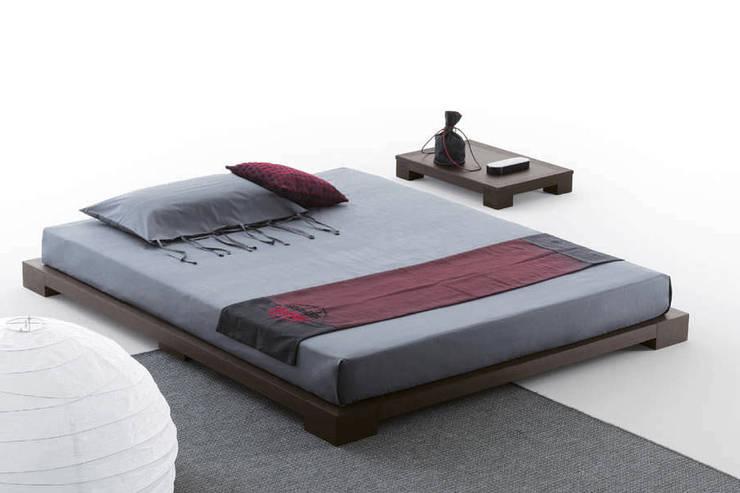 Homelli – Yere Yakın Masif Karyola:  tarz Yatak Odası