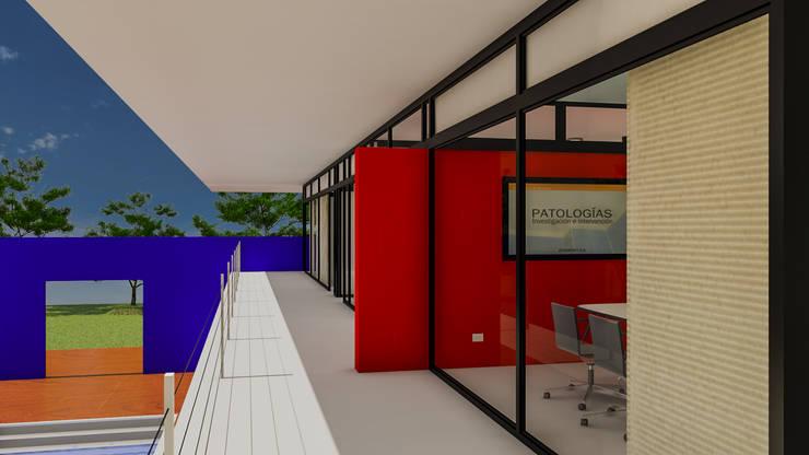 Balcones: Terrazas de estilo  por DUSINSKY S.A.,Moderno