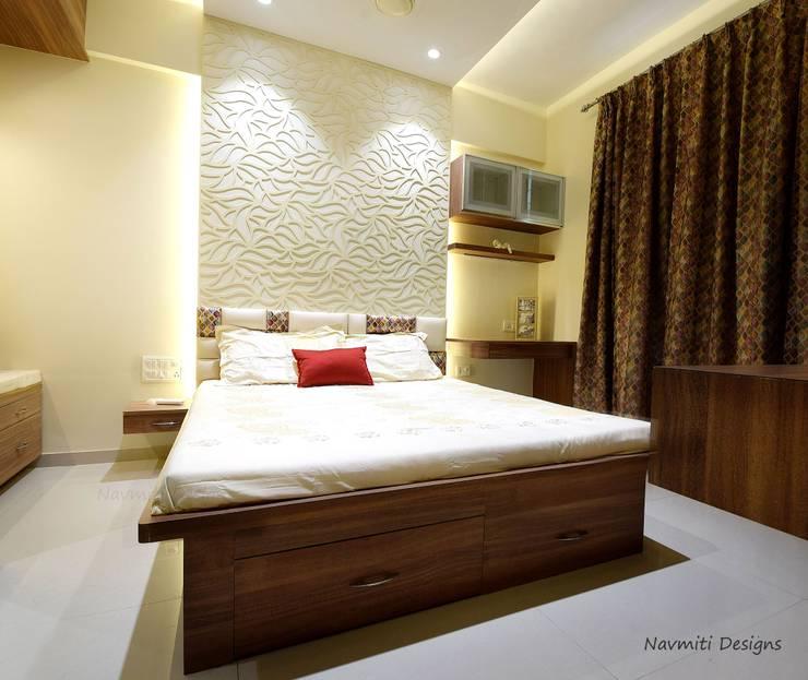 Cuartos de estilo  por Navmiti Designs, Moderno Madera Acabado en madera