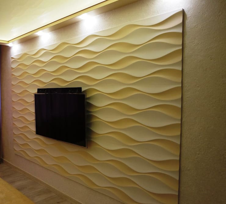 Paredes de estilo  por Loft Design System Deutschland - Wandpaneele aus Bayern, Ecléctico