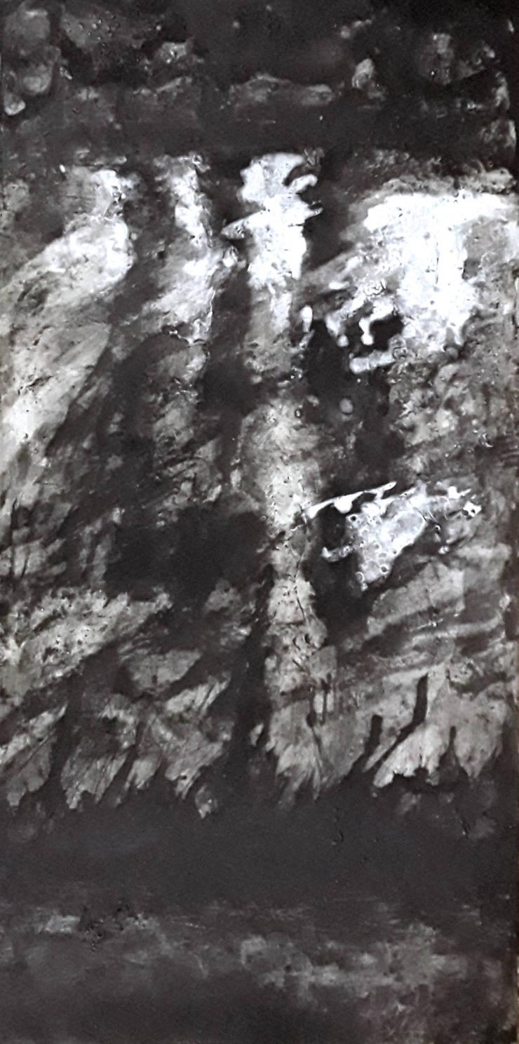 paisajes nefgros VII:  de estilo  de bealux, Moderno Algodón Rojo