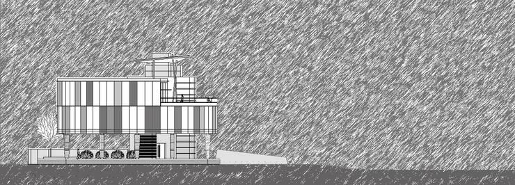 구미 해마루공원 전망대 : 건축사사무소  CSU의  주택,