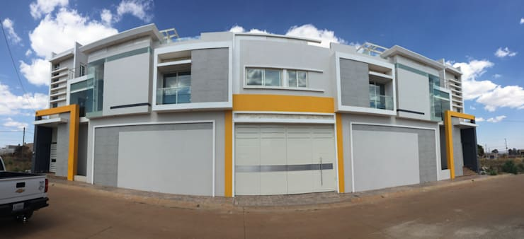 Casas de estilo  por arquifika, Moderno