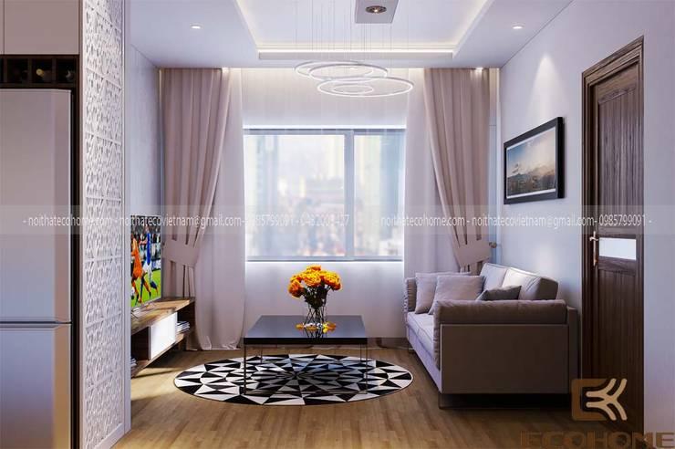 Wohnzimmer von Công Ty TNHH Xây Dựng & Nội Thất ECO Việt Nam, Modern