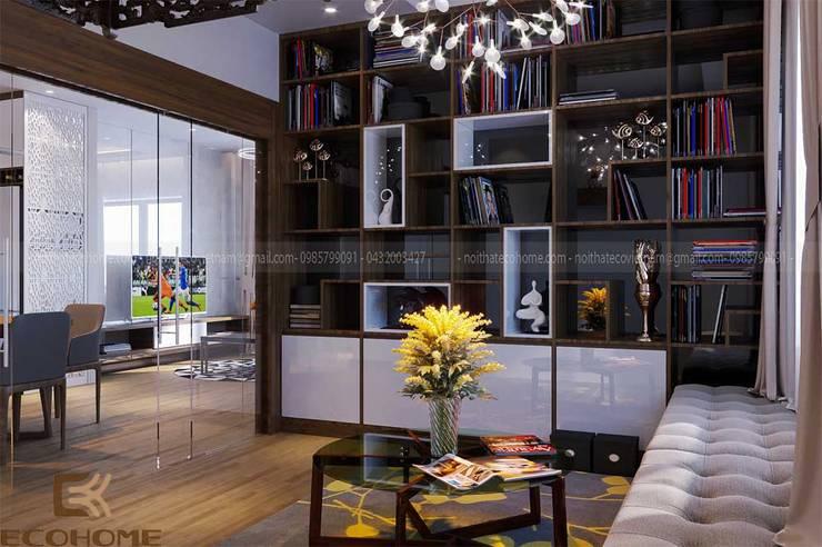 Arbeitszimmer von Công Ty TNHH Xây Dựng & Nội Thất ECO Việt Nam, Modern