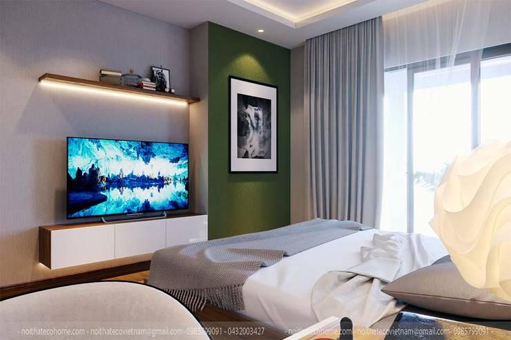 Schlafzimmer von Công Ty TNHH Xây Dựng & Nội Thất ECO Việt Nam, Modern