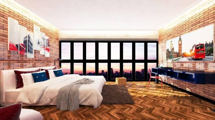 London Bedroom:   by Aeternite