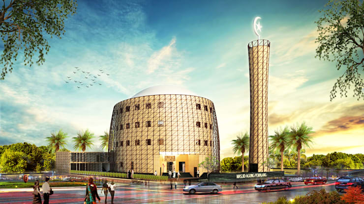 Pemalang Central Mosque:   by Aeternite