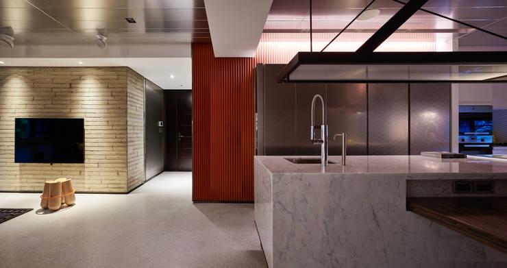 Linear Space:  走廊 & 玄關 by 沈志忠聯合設計