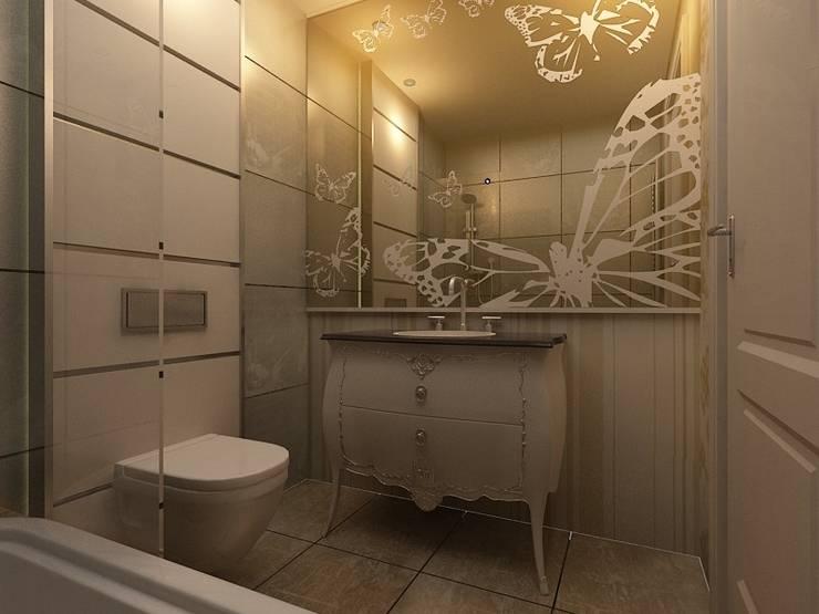 benna iç mimarlık – Sinpaş AQUA CİTY iç tasarımı 1:  tarz Banyo