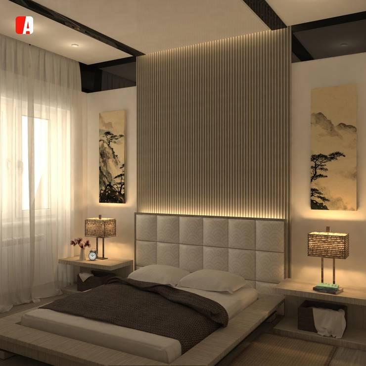 Asian style bedroom by Il Migliore Architetto Asian
