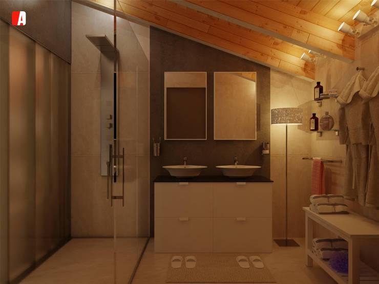 Modern bathroom by Il Migliore Architetto Modern