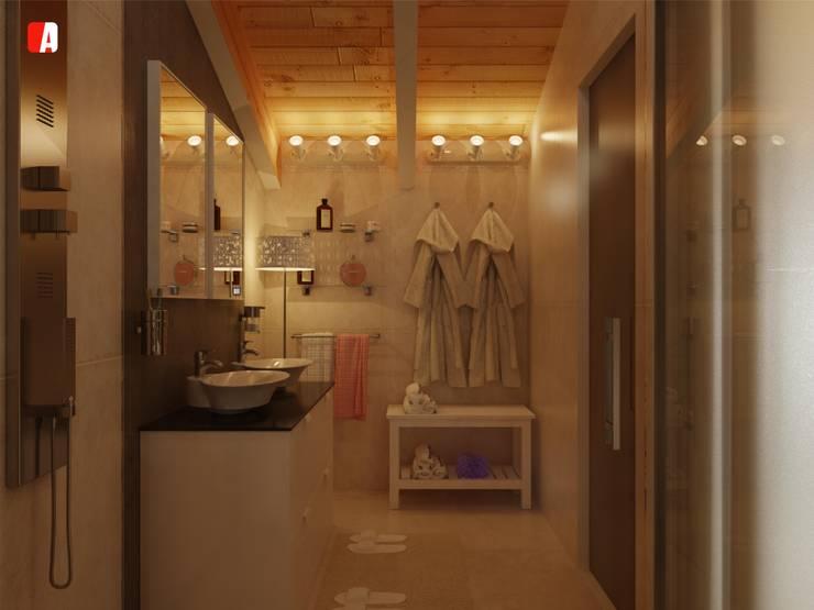 #02 – All you can Build: Bagno in stile  di Il Migliore Architetto, Moderno