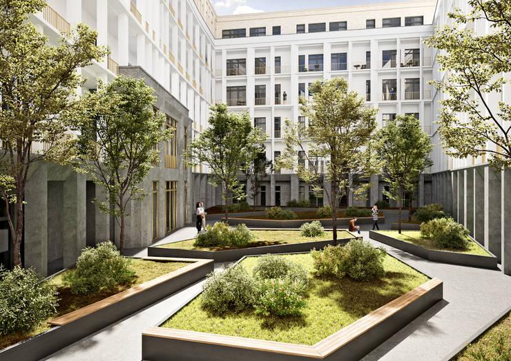 GRAND OUEST, Frankfurt:  Häuser von ESCON GmbH