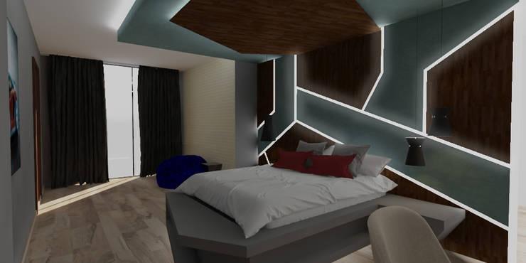 Private House—Summerveld:  Bedroom by Dedekind Interiors, Modern