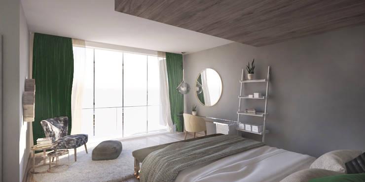 Private House - Summerveld:  Bedroom by Dedekind Interiors, Modern