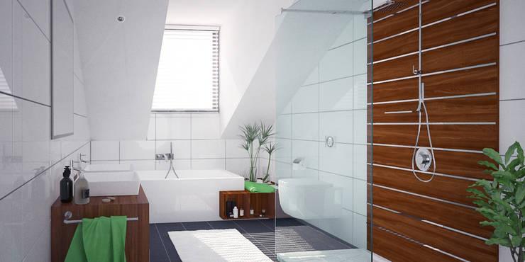 Bathrooms—Personal Projects:  Bathroom by Dedekind Interiors, Modern