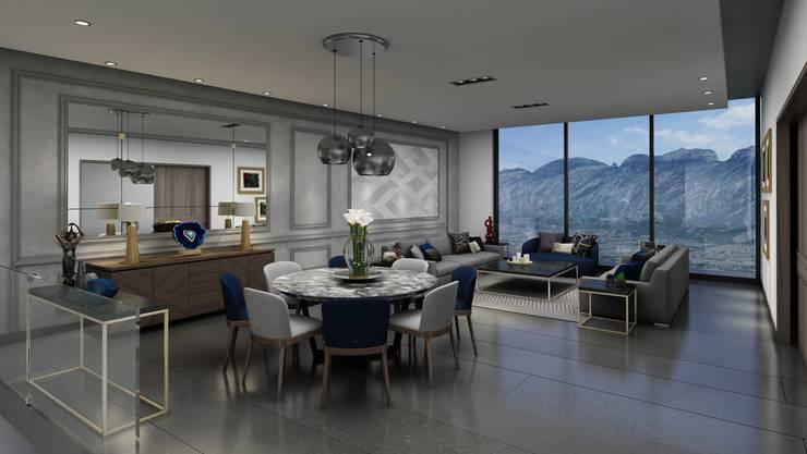 Sala comedor ideas para decorarlo con estilo for Ejemplo de sala comedor