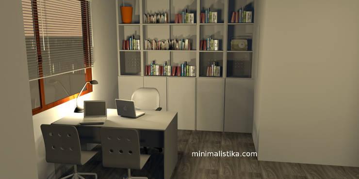 Loft Familiar: Anexos de estilo  por Minimalistika.com,