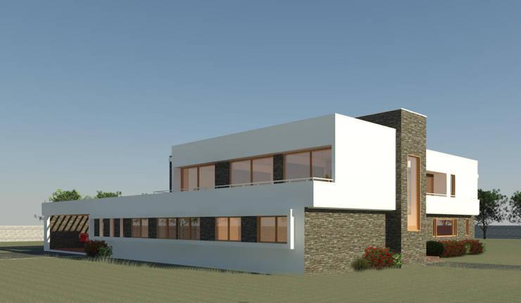 Casa Valenzuela:  de estilo  por AtelierStudio