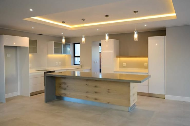 Cocinas de estilo  por JFS Interiors, Moderno