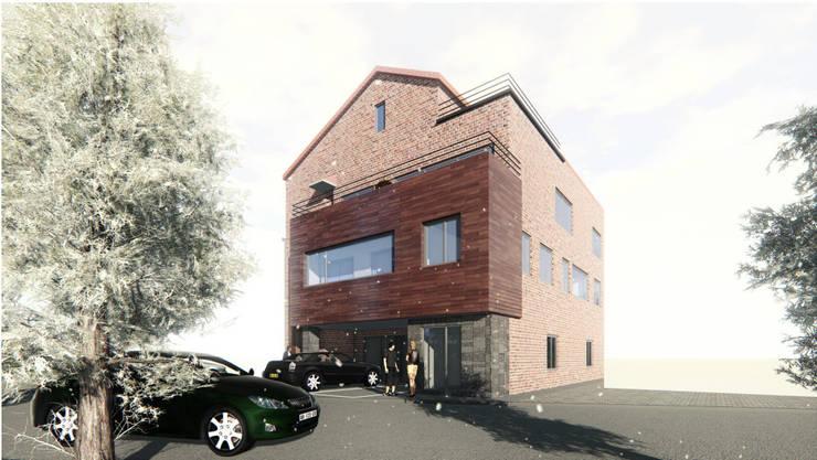 유성구 죽동 다세대주택: (주)건축&건축사사무소예일의