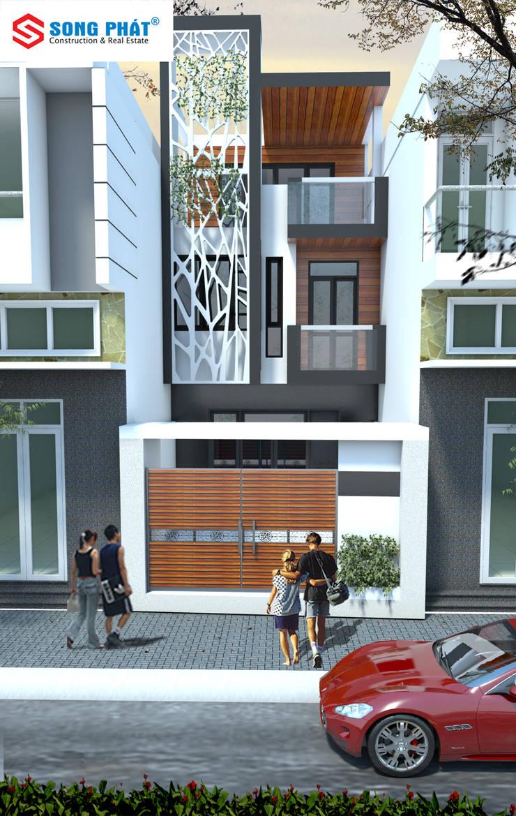 Nhà by Công ty thiết kế xây dựng Song Phát