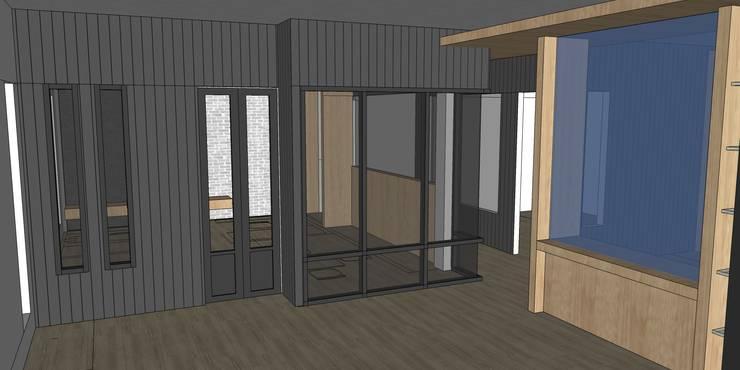 รูปตัวอย่างห้องทำงานผู้บริหาร:  ห้องทำงานและสำนักงาน by สตูดิโอ เอส จำกัด