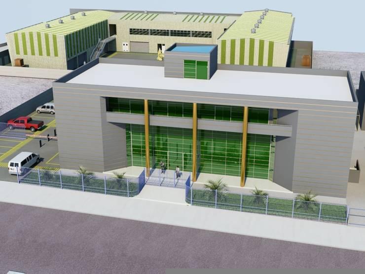 Centro de Entrenamiento Industrial y Minero CEIM_Fundacion Educacional Escondida -Antofagasta:  de estilo  por  Arquitectos Roman&Toledo