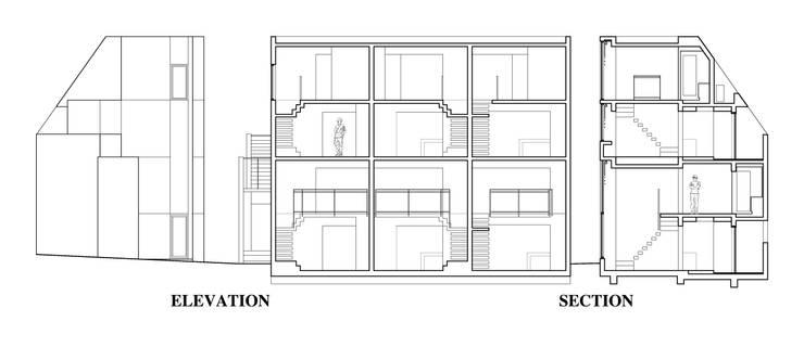 Residence LILAS: SOCIUS一級建築士事務所が手掛けたです。,